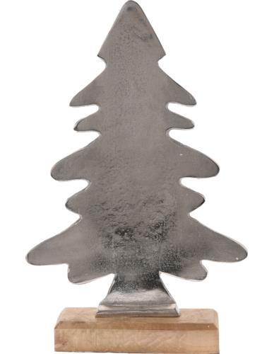 Choinka płaska na podstawie aluminium H38,5