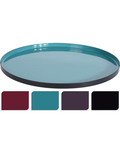 Taca Metalowa kolor mix D23 cm
