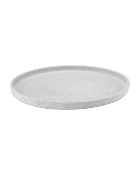 Podstawka/Taca betonowa błysk D25cm