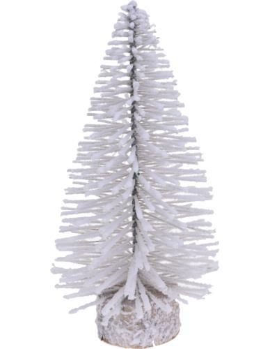Choinka Szczotka Ośnieżona 35 cm Biała