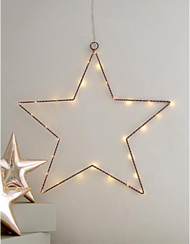 Gwiazda Z Podświetleniem LED Duża