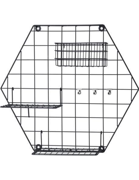 Organizer metalowy hexagon