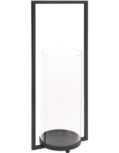 Świecznik Szklany w stojaku H43