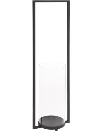 Świecznik Szklany w stojaku H60
