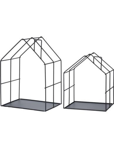 Półki / Domki metalowe 2 szt.