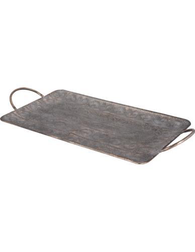 Taca dekoracyjna metal 67cm