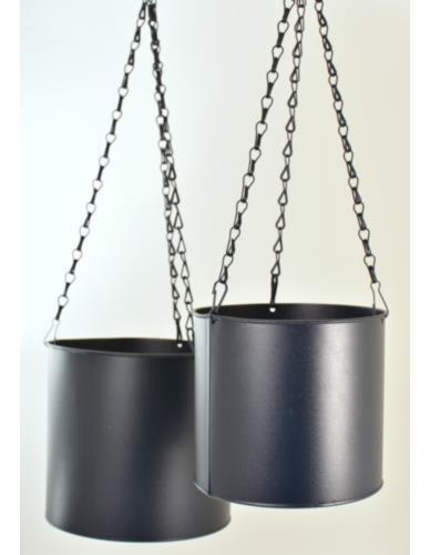 Osłonki Wiszące Cylinder Metal 2 szt. NAVY