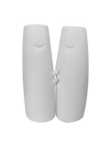 Wazon Całująca kobieta / mężczyzna Ceramika