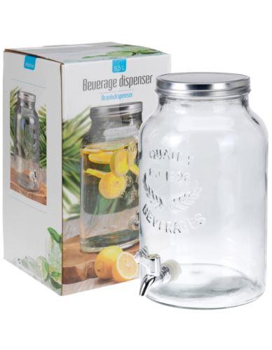 Słój szklany z nalewakiem 5,5 l