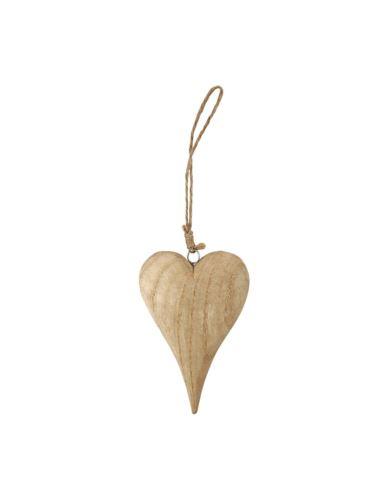 Serce drewniane H15 cm