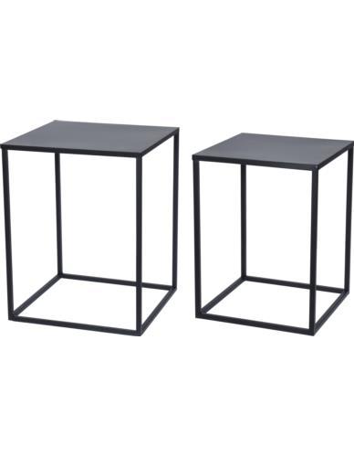 Stoliki metalowe 2 w 1