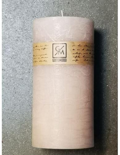 Świeca walec 200/100 mm cappuccino