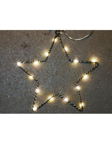 Gwiazda Z Podświetleniem LED Mini