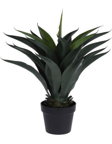 Palma sztuczna w czarnej doniczce 60 cm