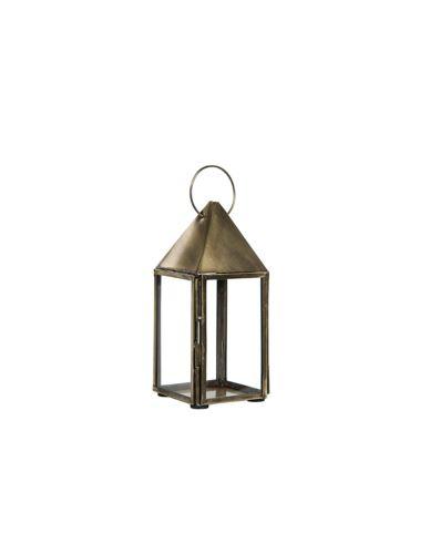 Lampionik Metalowy mosiądz