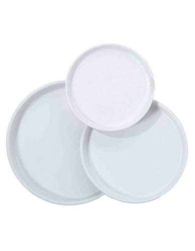 Talerz/Taca Biały Ceramika - 3 wielkości
