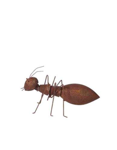 Mrówka metalowa rdzewiona Mała - Dekoracja