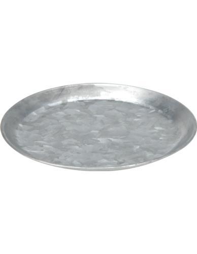 Taca metalowa cynk D30 cm