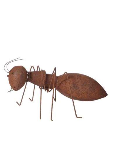Mrówka metalowa Rdzewiona Duża - Dekoracja