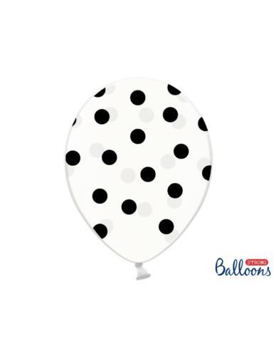 Balony 30 cm Kropki/Gwiazdki Mix