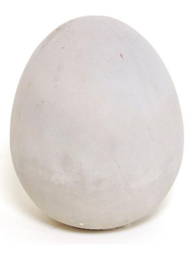 Jajo betonowe Całe D13 cm, H15 cm