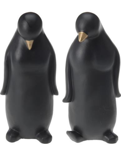 FIGURKA PINGWIN CZARNA 26CM