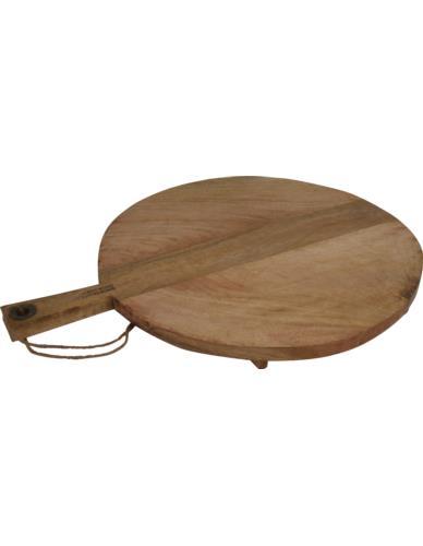 Deska drewniana do krojenia/serwowania okrągła