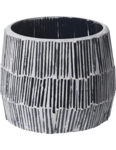 Świecznik szklany Tealight Mozaika H7 cm