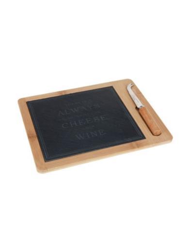 Deska do sera z Kamieniem + Nóż