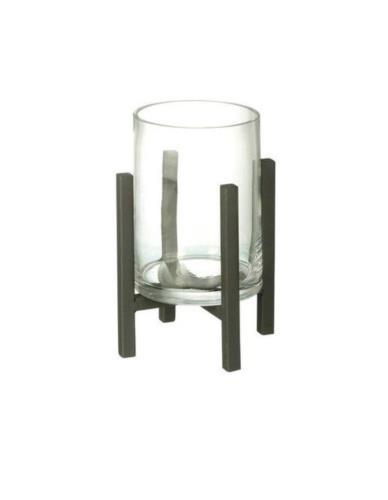 Lampion Szklany na stojaku